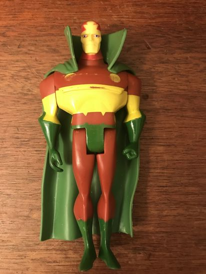 Justice Leaague Unlimited  (JLU)  Mr. Miracle action figure