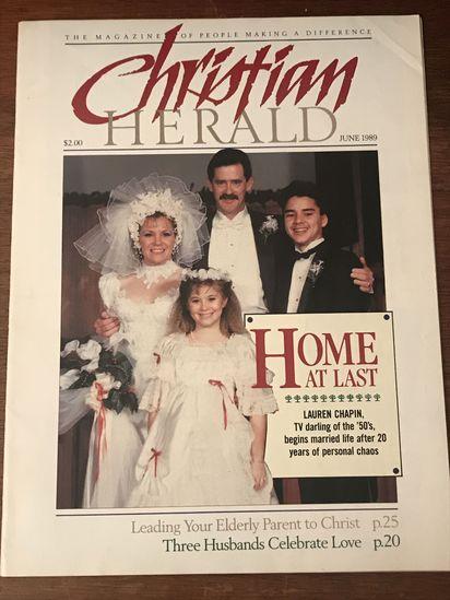 Christian Herald June 1989 featuring Lauren Chapin