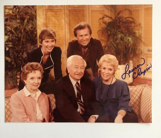1980 Good Morning America Show autographed photo by Lauren Chapin