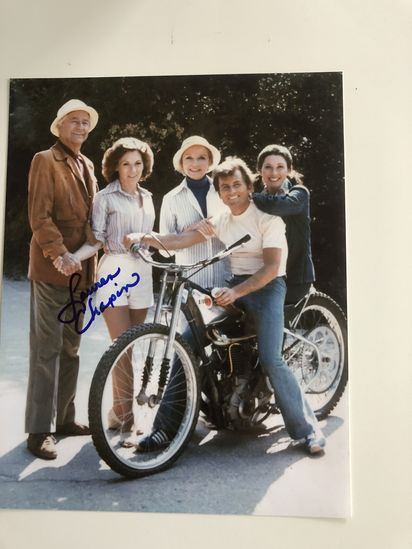 Autographed photo by Lauren Chapin