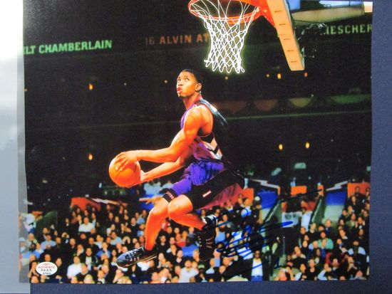 Tracy McGrady of the Toronto Raptors signed autographed 8x10 photo PAAS COA 934