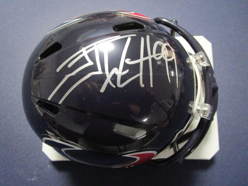 JJ Watt of the Houston Texans signed autographed mini helmet PAAS COA 647