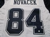 Jay Novacek of the Dallas Cowboys signed autographed football jersey GA COA 750
