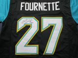 Leonard Fournette of the Jacksonville Jaguars signed autographed football jersey PAAS COA 448