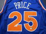 Mark Price of the Cleveland Cavaliers signed autographed basketball jersey GA COA 068