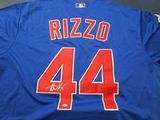 Anthony Rizzo of the Chicago Cubs signed autographed baseball jersey PAAS COA 930