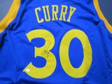 Steph Curry of the Golden State Warriors signed autographed basketball jersey PAAS COA 145