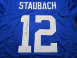 Roger Staubach of the Dallas Cowboys signed autographed football jersey PAAS COA 306