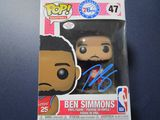 Ben Simmons of the Philadelphia 76ers signed autographed pop vinyl figure PAAS COA 634