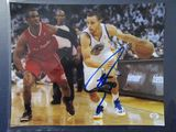 Steph Curry of the Golden State Warriors signed autographed 8x10 photo PAAS COA 919