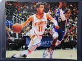 Trae Young of the Atlanta Hawks signed autographed 8x10 photo PAAS COA 904