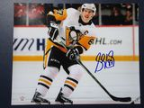 Sidney Crosby of the Pittsburgh Penguins signed autographed 8x10 photo PAAS COA 086
