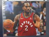 Khawi Leonard of the Toronto Raptors signed autographed 8x10 photo PAAS COA 127