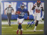 Saquon Barkley of the NY Giants signed autographed 8x10 photo PAAS COA 267