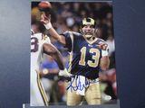 Kurt Warner of the St Louis Rams signed autographed 8x10 photo PAAS COA 188