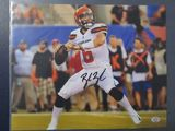 Baker Mayfield of the Cleveland Browns signed autographed 8x10 photo PAAS COA 965