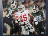 Ezekiel Elliott of the OSU Buckeyes signed autographed 8x10 photo Legends COA 377