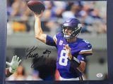 Kurt Cousins of the Minnesota Vikings signed autographed 8x10 photo PAAS COA 385