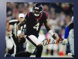 Deshaun Watson of the Houston Texans signed autographed 8x10 photo PAAS COA 036