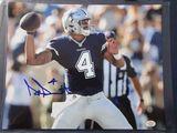 Dak Prescott of the Dallas Cowboys signed autographed 8x10 photo PAAS COA 846