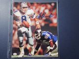 Troy Aikman of the Dallas Cowboys signed autographed 8x10 photo PAAS COA 841