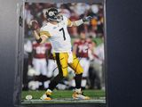 Ben Roethlisberger of the Pittsburgh Steelers signed autographed 8x10 photo PAAS COA 867