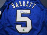 RJ Barrett of the Duke Blue Devils signed autographed basketball jersey CAS COA 937