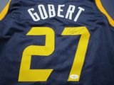 Rudy Gobert of the Denver Nuggets signed autographed basketball jersey Five Star COA 717