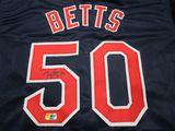 Mookie Betts of the Boston Red Socks signed autographed baseball jersey ERA COA 047