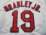 Jackie Bradley Jr of the Boston Red Socks signed autographed baseball jersey ERA COA 052
