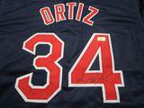 David Ortiz of the Boston Red Sox signed autographed baseball jersey ERA COA 046