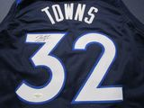 Karl Anthony-Towns of the Timberwolves signed autographed basketball jersey Five Star COA 673