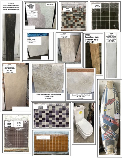 Home Remodeling - Tiles - Mosaics - Marble
