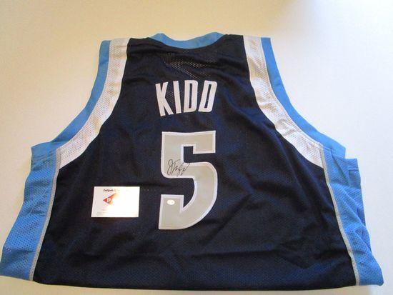 Jason Kidd, 10 Time All Star Dallas Mavericks,Autographed Jersey w COA