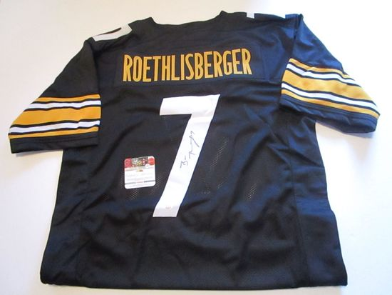 Ben Roethlisberger, 6 Pro Bowlers,Pittsburgh Steelers, Autographed Jersey w COA