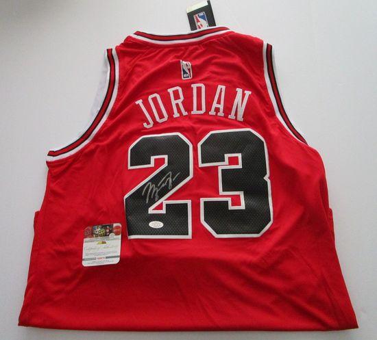 Michael Jordan, Greatest Basketball Player Ever, Chicage Bulls, Autographed Jersey w COA