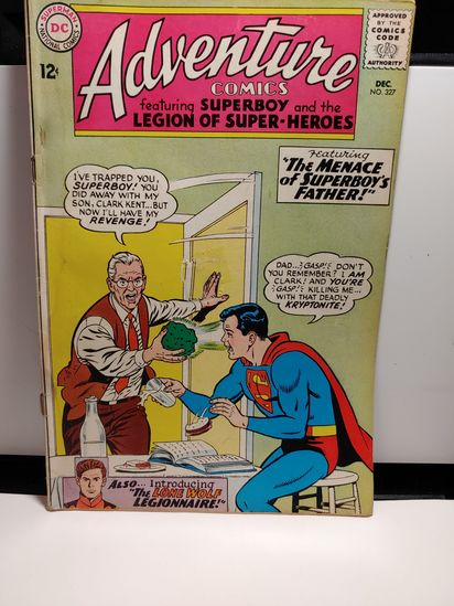 1960'S SUPERBOY COMIC SILVERAGE VINTAGE