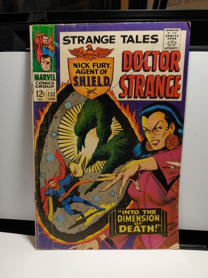 1960'S VINTAGE SILVERAGE COMIC DR STRANGE