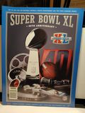 SUPERBOWL 40 MINT FOOTBALL PROGRAM
