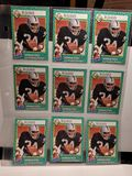 LOT OF 9 RAIDERS BO JACKSON SI FOR KIDS HARD TO FIND