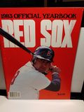 1983 RED SOX PROGRAM YAZ COVER EXCELLENT CONDITION