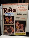 VINTAGE 1962 THE RING BOXING MAGAZINE WITH JOE LOUIS COVER EXCELLENT CONDITION