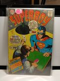 VINTAGE SILVERAGE SUPERBOY COMIC BOOK 12 CENT COVER