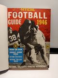 HARD TO FIND 1942 HARDCOVER FOOTBALL BOOK