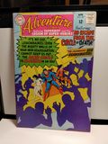 VINTAGE SILVERAGE ADVENTURE COMICS 12 CENT COVER