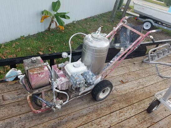 Walk Behind Gas Honda EnginePaint Striper