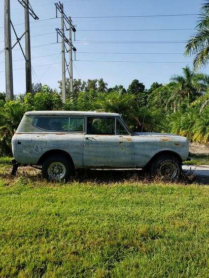 1979 International Scout Removable Top SUV Truck PROJECT