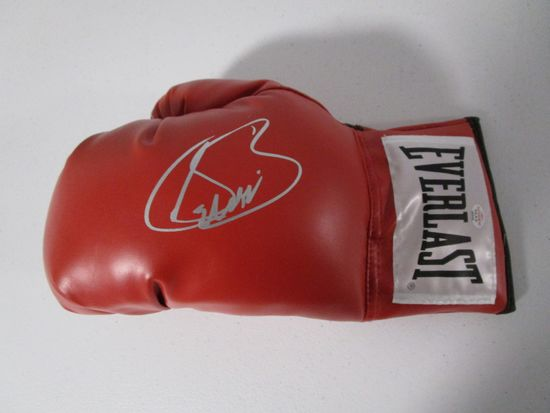 Saul Canelo signed autographed boxing glove PAAS COA 545