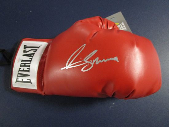 Anthony Joshua signed autographed boxing glove PAAS COA 551