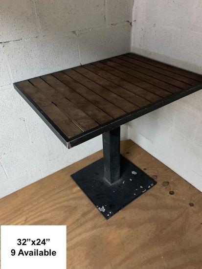 9 Restaurant Tables